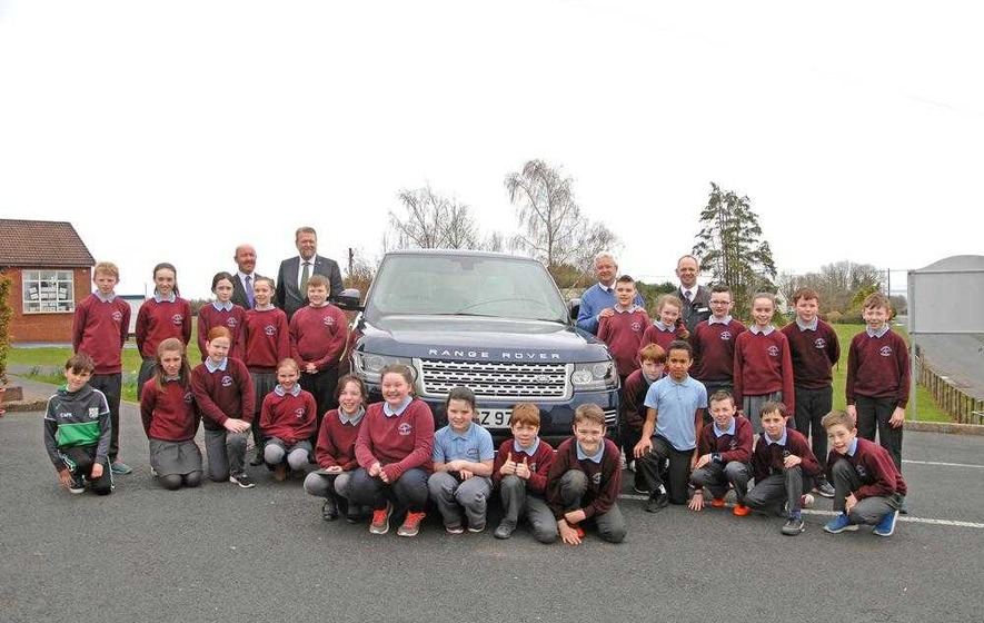 Tyrone primary pupils write to businesses in literary project
