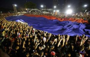 Rodrigo Duterte, the 'Filipino Trump', tops presidential election polls in Philippines