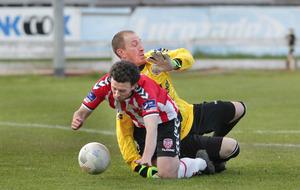 Barry McNamee targets revenge for Derry City over Finn Harps