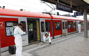 One dead, three injured in knife attack at German station