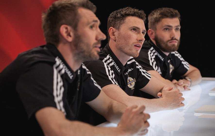 Video: Northern Ireland players judge goal scoring celebrations