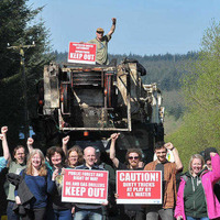 International activists join drill protest at Woodburn