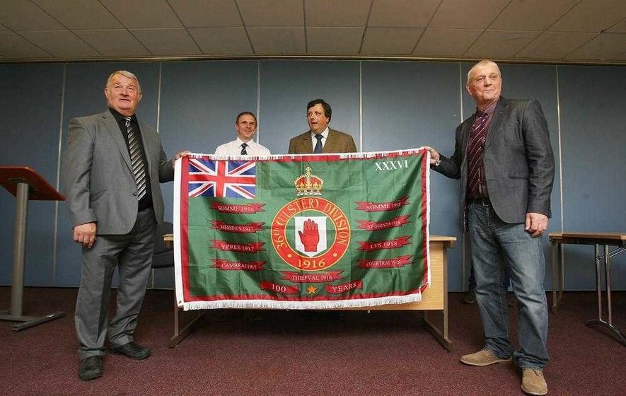 Hopes that new Somme flag will replace paramilitary displays