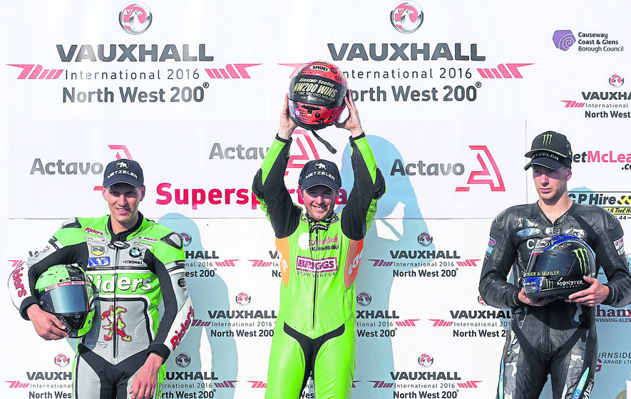 Alastair Seeley becomes North West 200's most successful racer