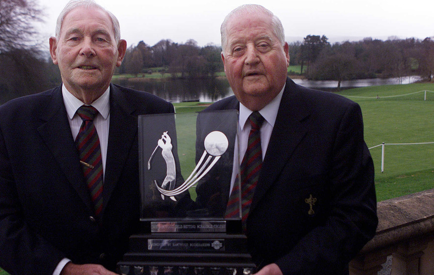 Darren Clarke leads the tributes to Irish golfing legend Christy O'Connor Snr