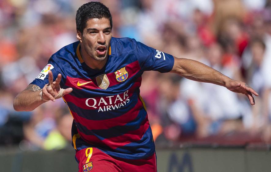 Luis Suarez grabs a hat-trick as Barcelona retain  Primera Division title