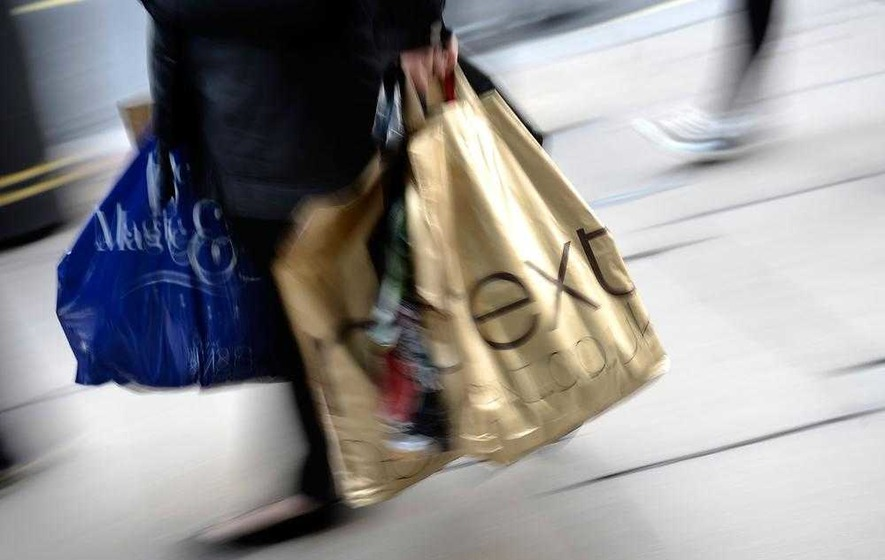 Double whammy for high street as more shops shut and consumer numbers fall