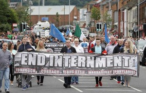 Anti-internment parade ban from city centre branded 'unfair'