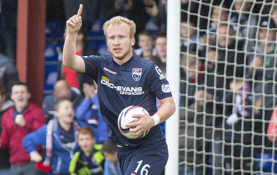 Liam Boyce on target as Ross County rout Aberdeen