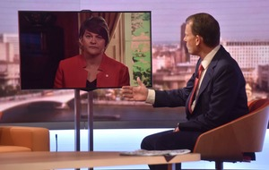 Arlene Foster's Brexit comments 'irresponsible', opponents blast