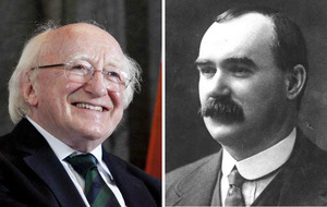 James Connolly would be 'saddened' 100 years on says Michael D Higgins