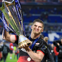Owen Farrell has double in mind after Saracens victory