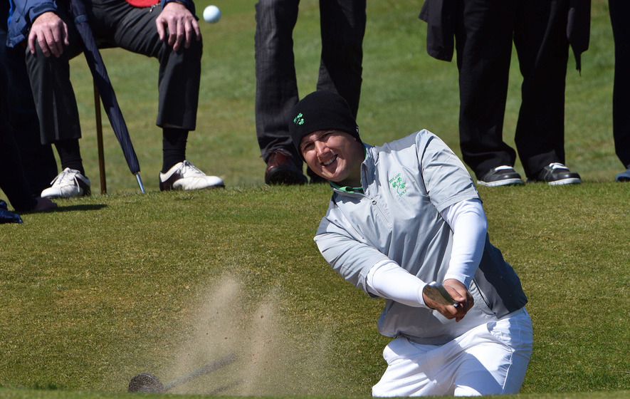 Colm Campbell on brink of making history at Irish Open
