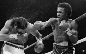 On This Day- May 17 1956: World boxing champion Sugar Ray Leonard weighs in