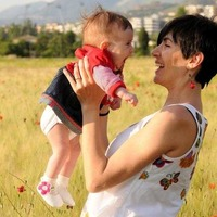 The joys and risks of becoming an older mum