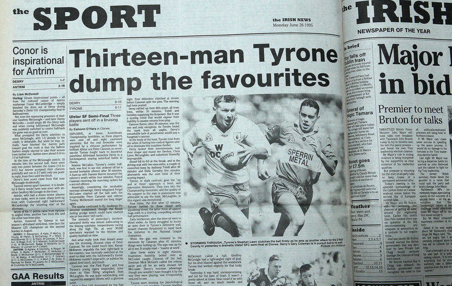 Adrian Cush and Fergal McCusker recall red-hot Championship of 1995