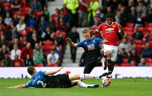 Manchester United end league with win over Bournemouth
