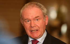 Martin McGuinness warns Alliance to 'make your mind up' over justice post