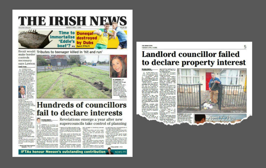 Councillors warned of journalist examining declarations of interest