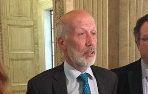 'Clear that Alliance Party 'not on same page' as DUP and Sinn Féin,' says David Ford