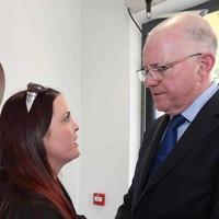 Michael McGibbon murder: Widow meets Charlie Flanagan