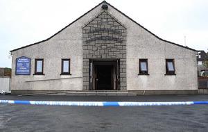 Co Down church damaged in arson attack