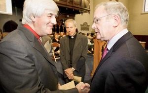 Rev Ken Newell on Fr Gerry Reynolds, Ian Paisley, peace-building and his book Captured By A Vision