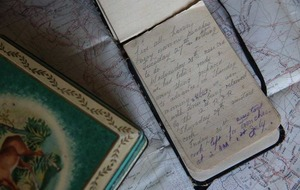 100-year-old diary of teenage soldier killed at The Somme goes on display
