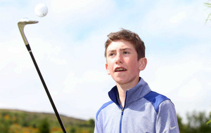 Future golf star Tom McKibbin unveiled as new NI Children's Hospice ambassador
