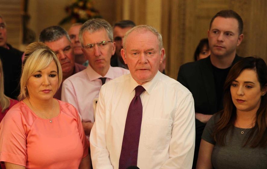 Martin McGuinness announces Sinn Féin ministerial team