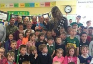 'Chewy' drops in for surprise visit at Kerry school