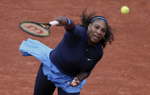 Serena Williams sees French Open rivals fall in first round