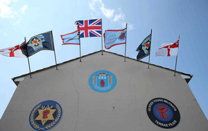 Paramilitary flags erected across north despite loyalist protocol