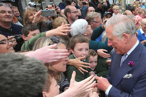 Prince Charles and Camilla visit Donegal