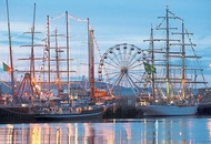 Tall ships and refurbished warship among the highlights at Belfast Maritime Festival