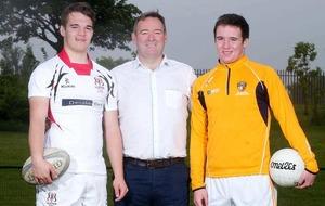 Twins Joseph and Patrick Finnegan target success with Antrim Minors