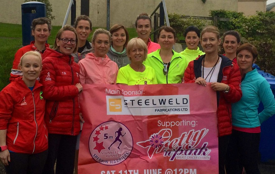 Sperrin Harriers launch Stunnerz in Runners event
