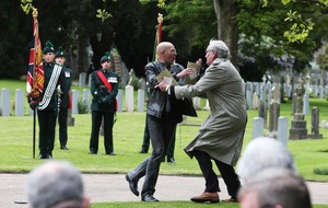 Justice for the Craigavon Two protester tells how Canadian parliament hero tackled him at 1916 ceremony
