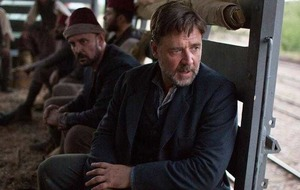 Russell Crowe is leaving stunts to the stuntmen from now on