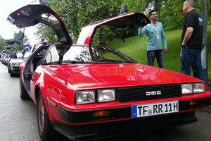 DeLoreans back in Belfast