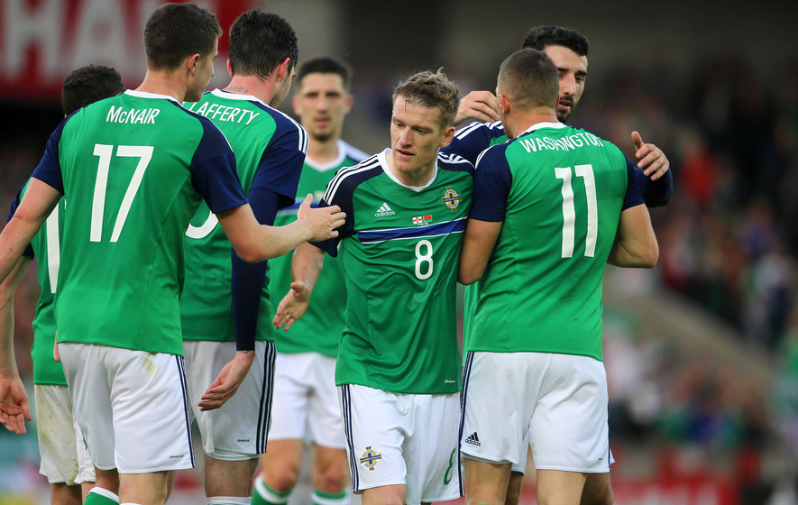 Three and easy for the North at Windsor Park against Belarus