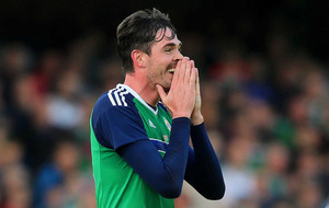 Michael O'Neill plays down Kyle Lafferty injury as just a 'precaution'