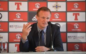 Michael O'Neill names NI squad for Euro 2016 Championship