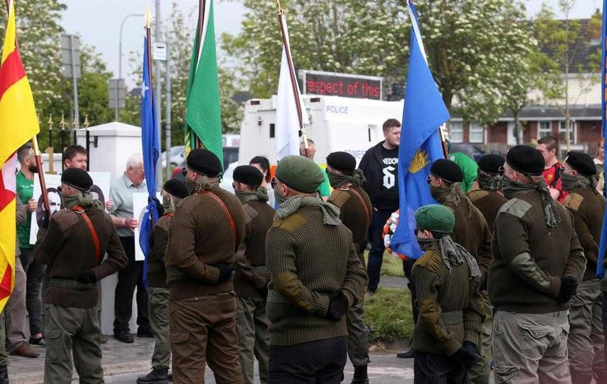 One man charged after republican parade in Lurgan