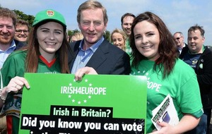 Brexit 'could mean return of border controls between north and Republic', Enda Kenny says