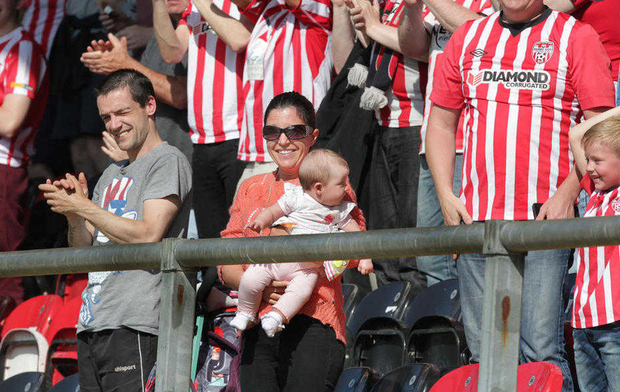 Buncrana tragedy: Louise James sees brother Joshua Daniels score for Derry City