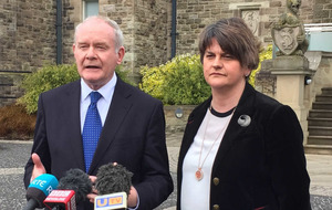 Sinn Féin are rolling over for Arlene Foster and the DUP