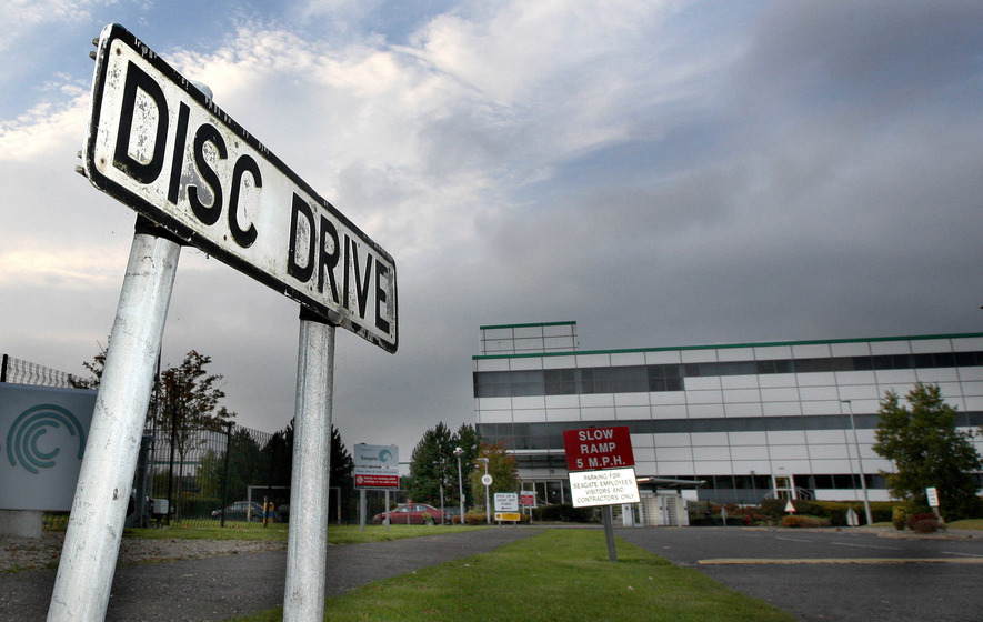 Seventy workers face axe at US tech giant Seagate's Derry base