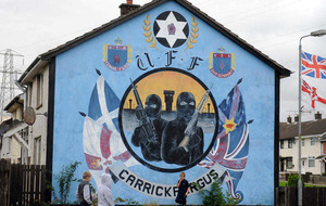 Tensions between loyalists in Carrickfergus at 'boiling point'