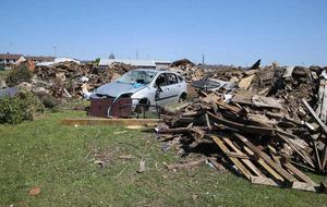 Car dumped in middle of Larne bonfire site